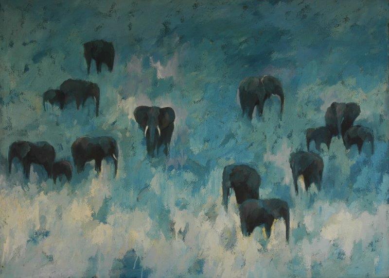 Blue Elephants 1